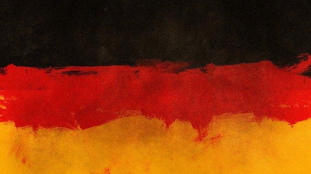 peinture drapeau allemand